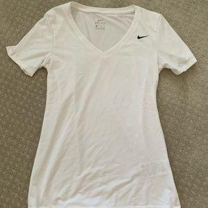 Nike Dry Fit White T-Shirt